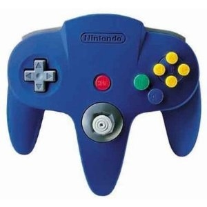 Réminiscences sensitives Manette-nintendo-64-bleue-e39509