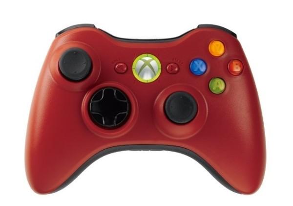 Manette xbox 360 sans fil rouge x360 accessoire for Manette xbox 360 pas cher sans fil
