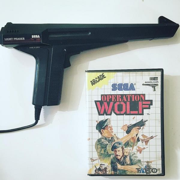 Operation Wolf En Boîte Et Pistolet Light Phaser