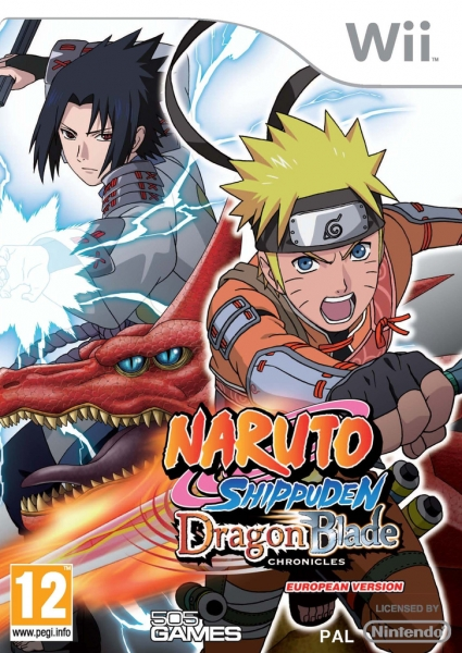naruto shippuden dragon blade chronicles wii jeux occasion pas cher gamecash. Black Bedroom Furniture Sets. Home Design Ideas