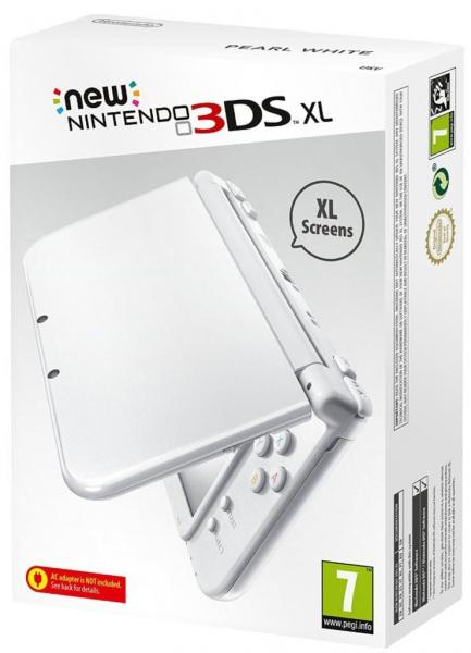 Console new nintendo 3ds xl blanche perle en bo te 3ds console occasion pas cher gamecash - Console 3 ds xl pas cher ...