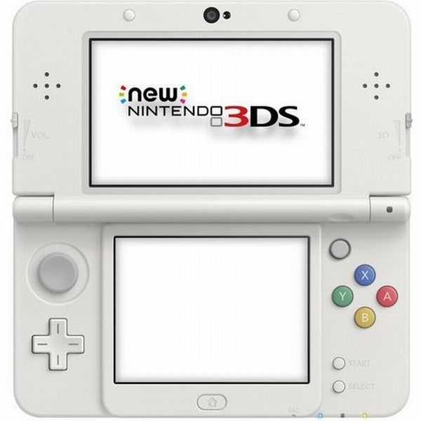 console new nintendo 3ds blanche 3ds console occasion. Black Bedroom Furniture Sets. Home Design Ideas