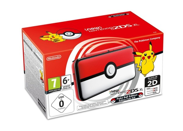Console new nintendo 2ds xl edition limit e pokeball en boite 3ds console occasion pas - Console nintendo 3ds xl occasion ...