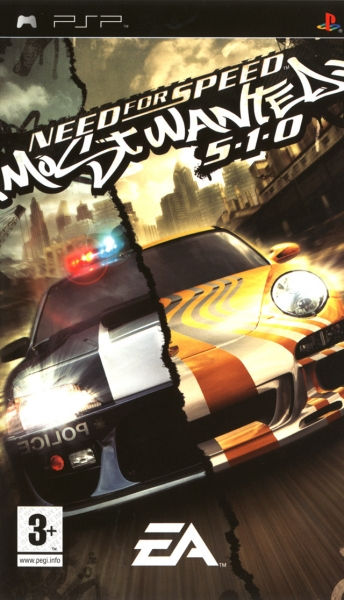 need for speed most wanted psp jeux occasion pas cher gamecash. Black Bedroom Furniture Sets. Home Design Ideas
