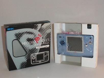 console neo geo pocket bleue ngp console occasion pas cher gamecash. Black Bedroom Furniture Sets. Home Design Ideas