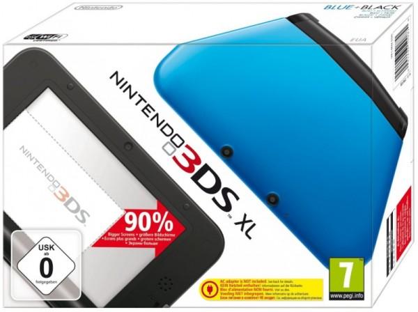 Console nintendo 3ds xl bleu noir en bo te 3ds console occasion pas cher gamecash - Console 3 ds xl pas cher ...