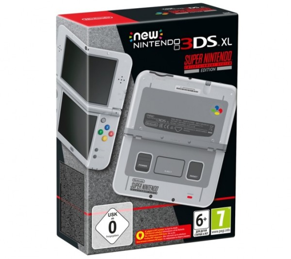 Console new nintendo 3ds xl dition limit e super nintendo en bo te 3ds console occasion - Console nintendo 3ds xl occasion ...