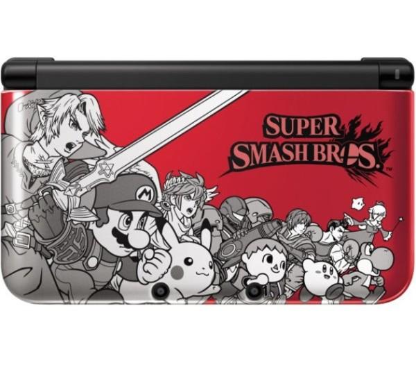 Console nintendo 3ds xl rouge dition super smash bros 3ds console occasion pas cher - Console 3 ds xl pas cher ...