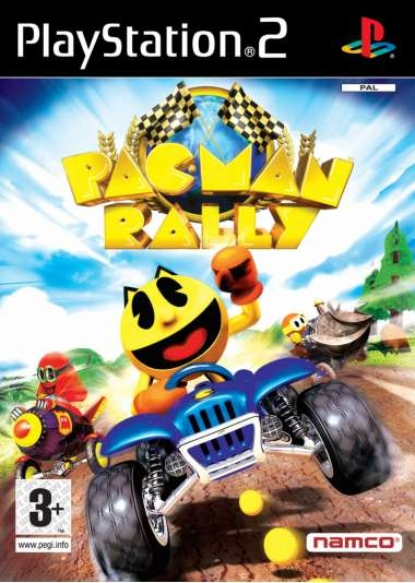 pac man rally ps2 jeux occasion pas cher gamecash. Black Bedroom Furniture Sets. Home Design Ideas