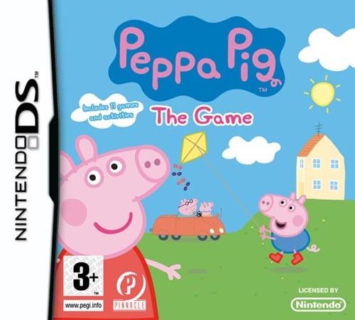 peppa pig the game ds jeux occasion pas cher gamecash. Black Bedroom Furniture Sets. Home Design Ideas