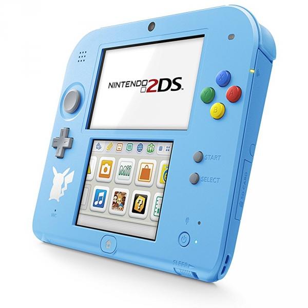 console nintendo 2ds bleue edition pokemon soleil lune. Black Bedroom Furniture Sets. Home Design Ideas