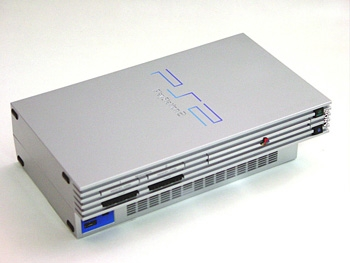 Console playstation 2 silver ps2 console occasion pas cher gamecash - Console playstation 2 neuve ...