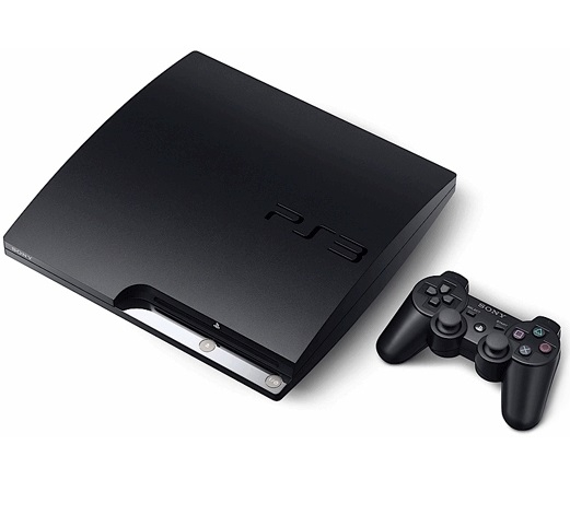 console playstation 3 slim 120 go ps3 console. Black Bedroom Furniture Sets. Home Design Ideas
