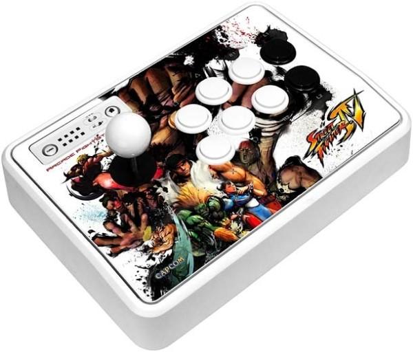 Stick Arcade Street Fighter IV Blanc - PS3 - Accessoire