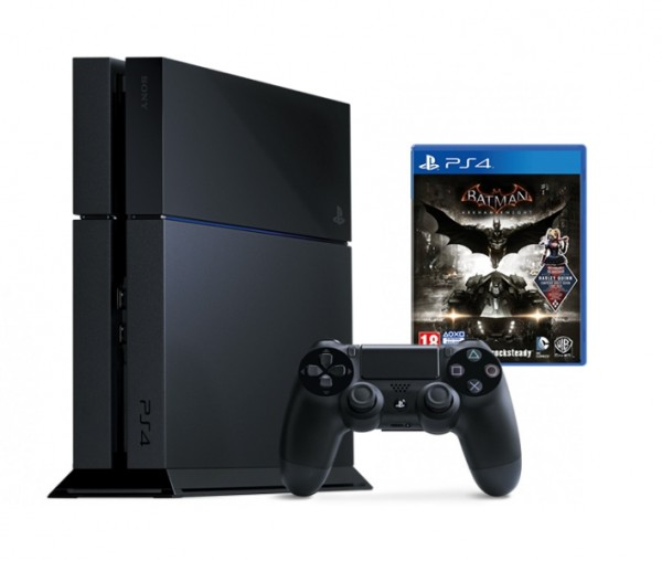 console playstation 4 500 go batman arkham knight ps4 console occasion pas cher gamecash. Black Bedroom Furniture Sets. Home Design Ideas
