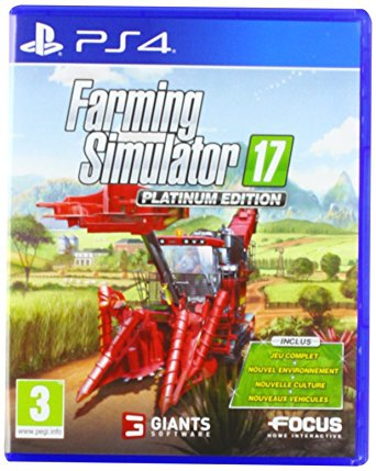 farming simulator 17 platinum edition ps4 jeux occasion pas cher gamecash. Black Bedroom Furniture Sets. Home Design Ideas