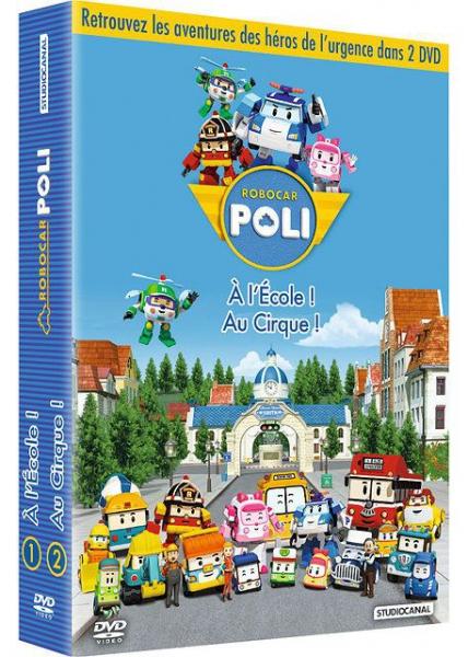 Robocar poli 1 2 dvd jeux occasion console occasion pas cher gamecash - Robocar poli jeux gratuit ...
