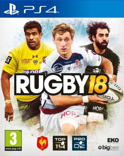 rugby 18 ps4 jeux occasion pas cher gamecash. Black Bedroom Furniture Sets. Home Design Ideas