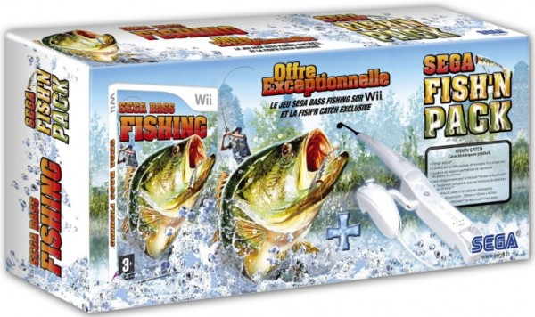 sega bass fishing canne p che wii jeux occasion pas cher gamecash. Black Bedroom Furniture Sets. Home Design Ideas