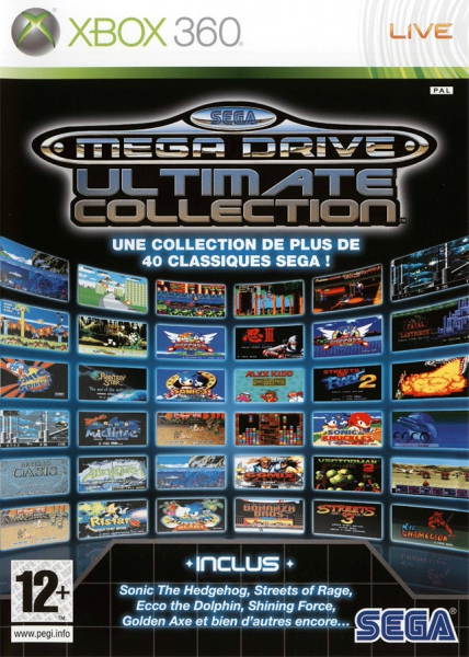 Ultimate Collection Jpg: Sega Megadrive Ultimate Collection Sous Blister