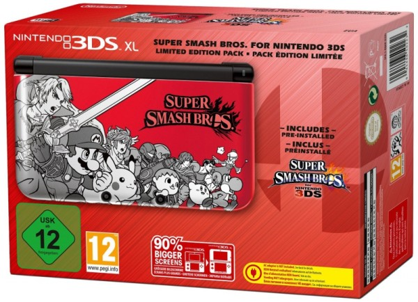 Console nintendo 3ds xl edition super smash bros en for 3ds xl occasion pas cher