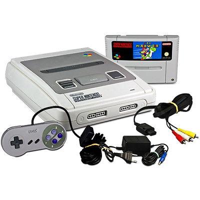 Console Super Nintendo et Super Mario World - SN - Console Occasion Pas Cher - Gamecash