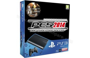 console ultra slim 500 go pes 2014 ps3 console occasion pas cher gamecash. Black Bedroom Furniture Sets. Home Design Ideas