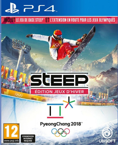 steep edition jeux d 39 hiver 2018 ps4 jeux occasion pas cher gamecash. Black Bedroom Furniture Sets. Home Design Ideas
