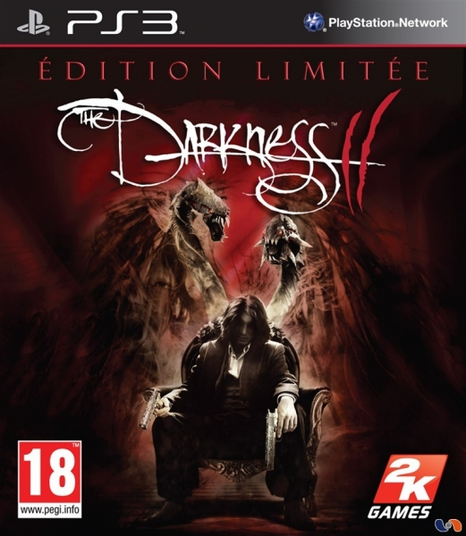 the darkness ii edition limit e ps3 jeux occasion pas cher gamecash. Black Bedroom Furniture Sets. Home Design Ideas