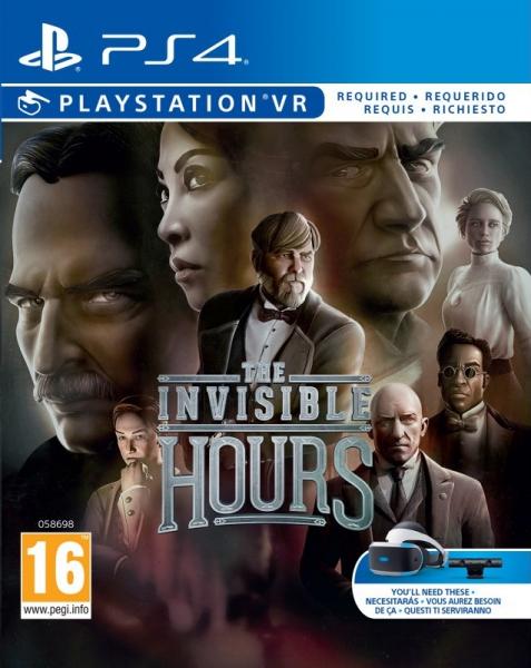 """Résultat de recherche d'images pour """"the invisible hours cover ps4"""""""