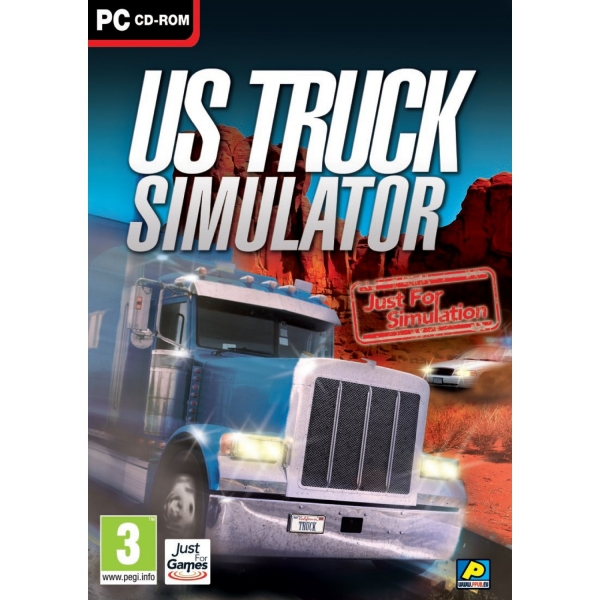 us truck simulator pc jeux occasion pas cher gamecash. Black Bedroom Furniture Sets. Home Design Ideas