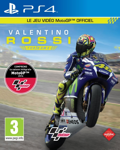 valentino rossi the game ps4 jeux occasion pas cher gamecash. Black Bedroom Furniture Sets. Home Design Ideas