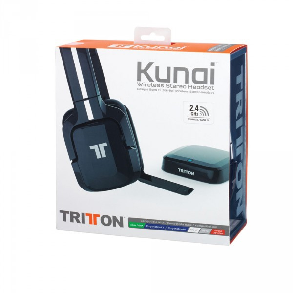 casque tritton kunai sans fil ps4 accessoire occasion pas cher gamecash. Black Bedroom Furniture Sets. Home Design Ideas