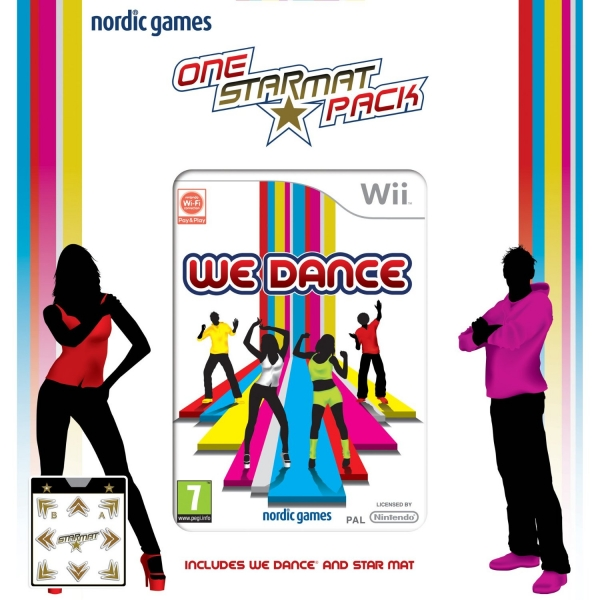 We Dance Star Mat Tapis De Danse Wii Jeux Occasion