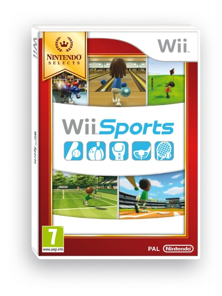 wii sports nintendo selects wii jeux occasion pas cher gamecash. Black Bedroom Furniture Sets. Home Design Ideas