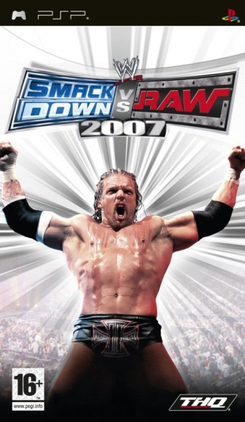 Wwe smackdown vs raw 2007 - PSP - Jeu Occasion Pas Cher