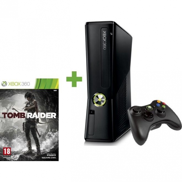 console 250 go et tomb raider x360 console occasion. Black Bedroom Furniture Sets. Home Design Ideas
