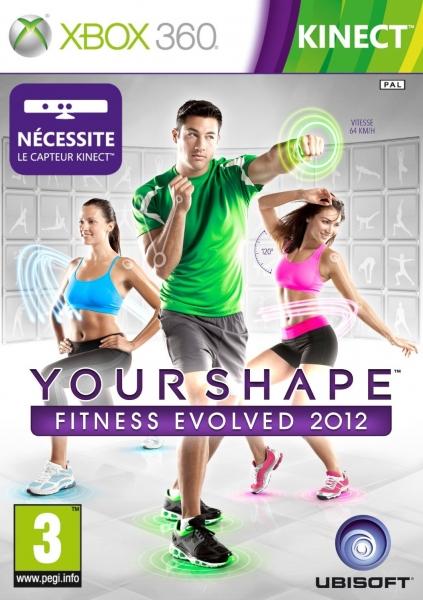 your shape fitness evolved 2012 x360 jeux occasion pas cher gamecash. Black Bedroom Furniture Sets. Home Design Ideas