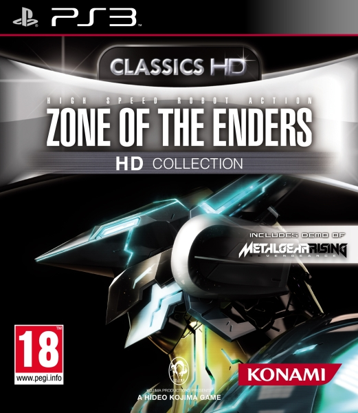 zone of the enders hd collection ps3 jeux occasion pas. Black Bedroom Furniture Sets. Home Design Ideas