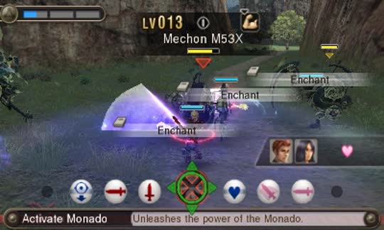3DS XENOBLADE CHRONICLES 3D 3