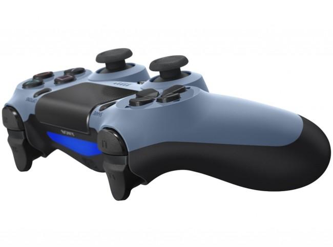 manette dualshock 4 grey blue ps4 accessoire occasion pas cher gamecash. Black Bedroom Furniture Sets. Home Design Ideas