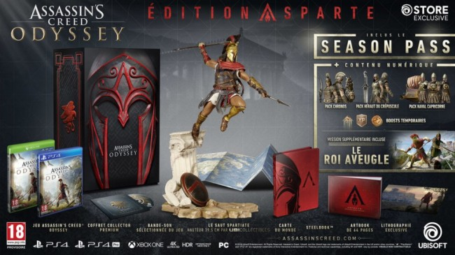 ASSASSIN S CREED ODYSSEY EDITION SPARTE
