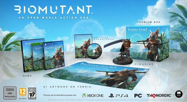 BIOMUTANT EDITION COLLECTOR 1