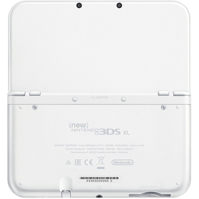 Console New Nintendo 3DS XL Blanche Perle (2)