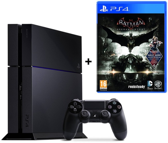 Console PS4+ Jeu Batman Arkham Knight