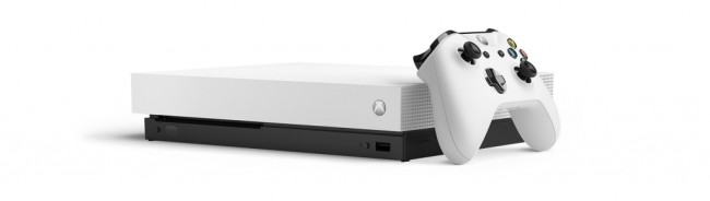 Console Xbox One X (1 To) Blanc Robot