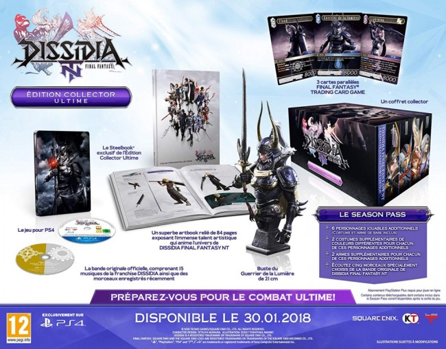 Dissidia Final Fantasy NT Edition Collector Ultime