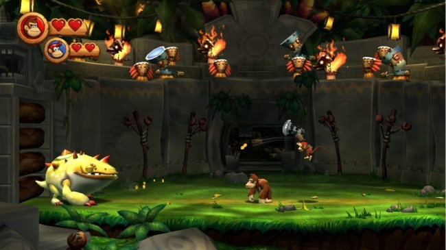 donkey kong country screen2