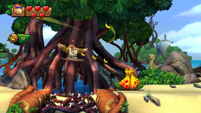 Donkey Kong Country Tropical Freeze 1