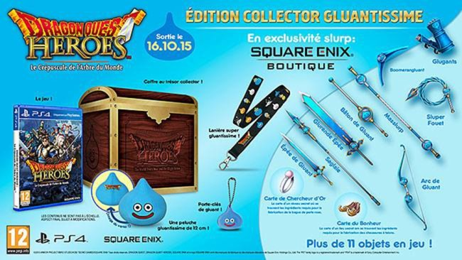 dragon quest heroes le crepuscule de l arbre du monde edition collector